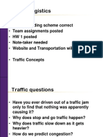 Traffic Concepts