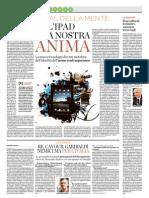 """Se l'Ipad è la nostra anima di Maurizio Ferraris per """"Il Secolo XIX"""""""