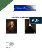Empirismo y Racionalismo