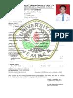 Biodata Mahasiswa Program Ilmu Komputer
