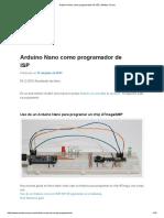 Arduino Nano Como Programador de ISP_espa