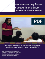 Prevenção do cancro%2c nacional cancer institute