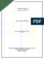 t.c. 1 Diseno de Proyectos 102058 Aporte 1