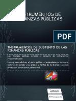 Semana 2 - Instrumentos de Finanzas Públicas