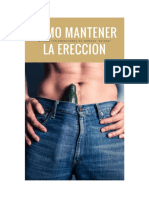 Como Mantener Una Ereccion