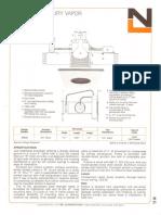 NL Corporation M3000 100w MV R40 6-Inch Baffle Downlight Spec Sheet 10-75