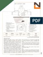 NL Corporation M3102 100w MV R40 Baffle Wall Wash Downlight Spec Sheet 10-75