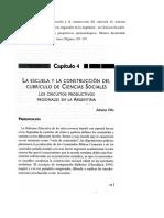 Villa- La Escuela y La Construcción Del Curriculo
