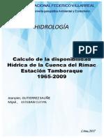 DISPONIBILIDAD HIDRICA1