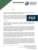 Concepto 220-131541 17-09-13 Libros de Contabilidad.registro.forma de Llevarlos