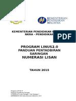 Panduan Pentadbiran Saringan Numerasi Lisan 2015