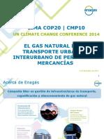 ENAGAS-El Gas Natural en El Transporte Urbano e Interurbano de Personas y Mercancias