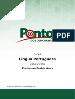 Dica de Português Emprego Dos Pronomes Isso x Isto