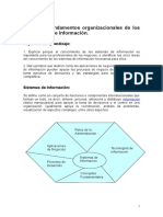 Unidad I - Fundamentos Organizacionales de Los SI