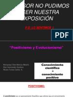 Positivismo y Evolucionismo