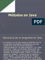 Unidad II Metodos en Java