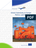 School Autonomy in Europe Policies and Measures