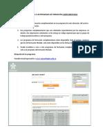 Inscripcion Programa Complementario