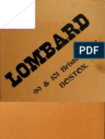 A. P. Lombard & Co - Moldings Catalog (1915)