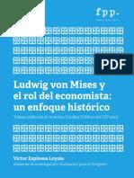 Paper Ludwig Von Mises y El Rol Del Economista