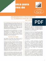 Ingredientes en la alimentacion de cerdos.pdf