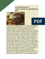 Ano 2012, o Fator Mais e Nostradamus, Muitas Crendices e Paranoias (Jorge Hessen).pdf