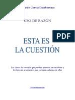 Razonar - La Cuestion
