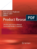 Product Research - The Art and Science Behind Successful Product Launches