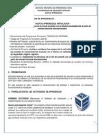 Gfpi-f-019 Formato Guia de Aprendizaje Instalacion (s.o Para Redes)