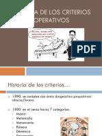 Historia de Los Criterios