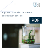 A Global Dimension to Science Education in Schools Printable