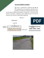 Fallas de Pavimento Flexibles y Rigido