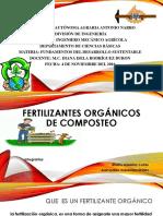 Fertlizantes Organicos de Composteo