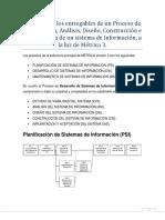 3.5 Resumen de Los Entregables de Un Proceso de Planificación Con Metrica 3