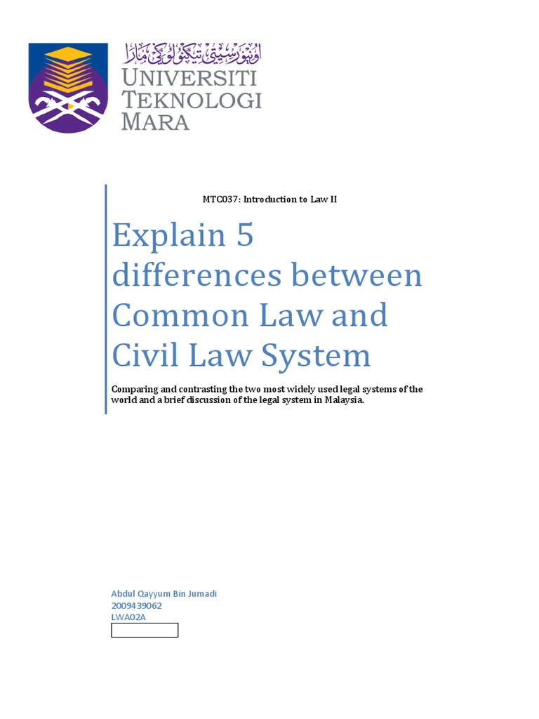 development of common law and equity