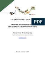 Origen del bufalo en Venezuela.pdf