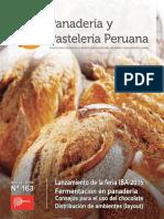 Revista Panadería y Pastelería Peruana N° 163