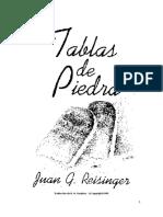 John G. Reisinger - Las Tablas de Piedra