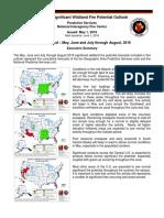 CA 2016 Fire Outlook