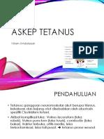 Askep Tetanus