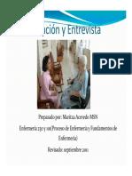 Comunicacion y Entrevista