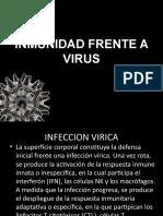 Inmunidad Frente a Virus