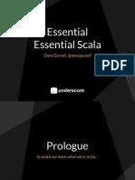 Essential Essential Scala