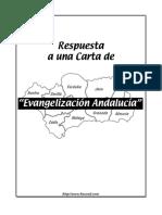 Respuesta a Una Carta de Evangelizaci0n