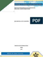 Evidencia 1 Informe Documentacion Requerida en La Negociacion Internacional Segun Normatividad