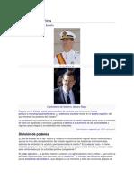 Gobierno y Politica de España
