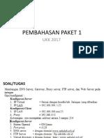 PEMBAHASAN UKK-TKJ PAKET 1