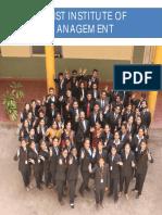 CIM Placement Brochure 2016-17