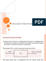 5b_Discrete Time Systems