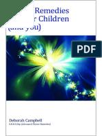 Flower Remedies for Your Childr - Deborah Campbell